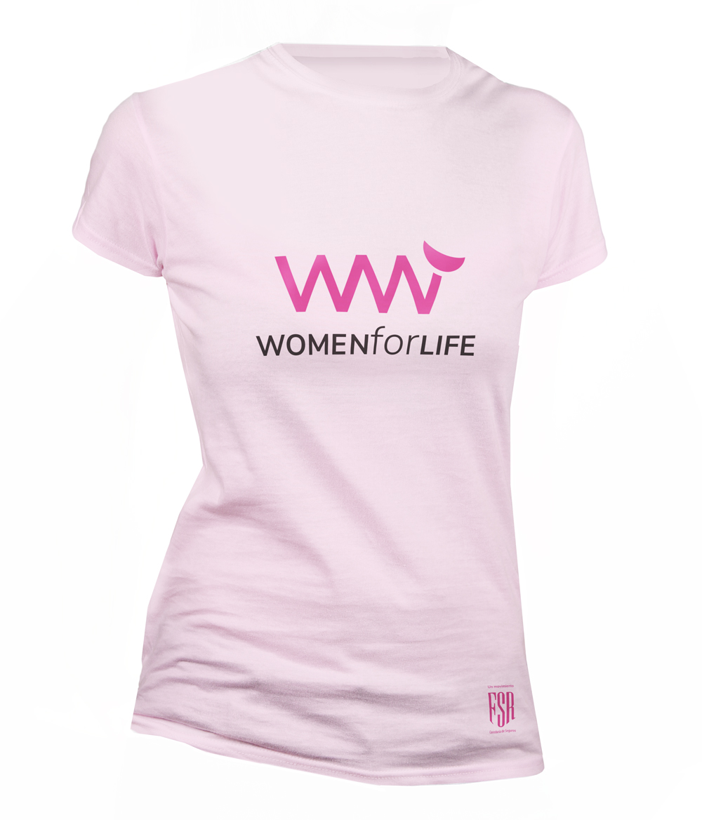 Camiseta women for life